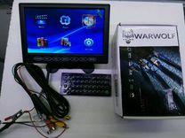 Телевизор WarWolf в авто 7 дюймов с USB