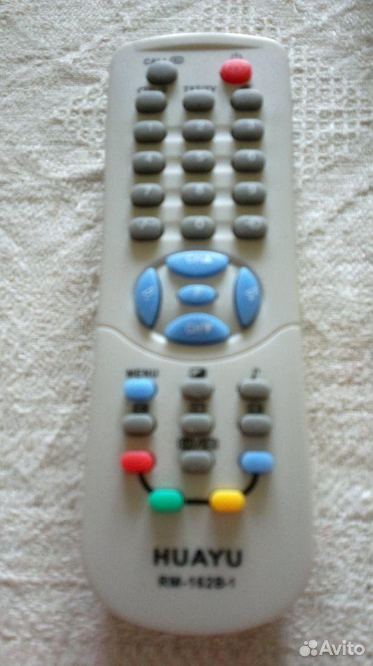 Пульт для телевизора Huayu новый и Витязь б/у  89817937093 купить 3