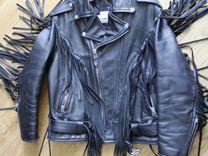 Кожаная куртка для мотоциклистов Альберто — Одежда, обувь, аксессуары в Москве