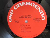 LP gillespie, dizzy THE original dizzy gillespie