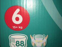 Подгузники-трусики Huggies 6 размер