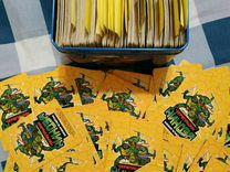 Карточки Черепашки ниндзя 360 штук