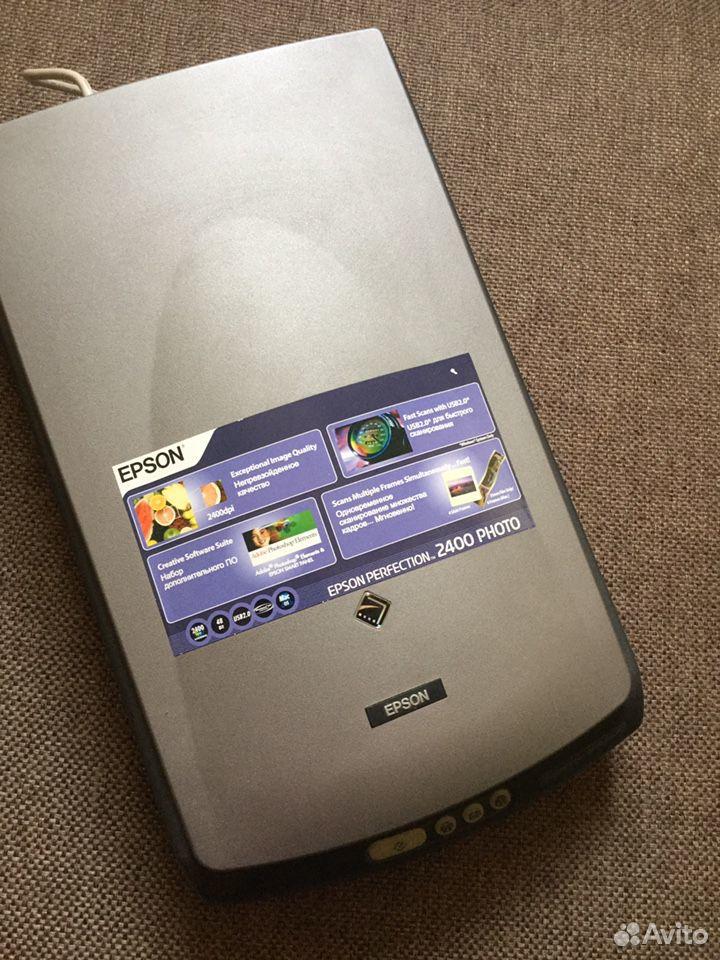 Сканер epson perfection 2400 foto  89112122424 купить 1