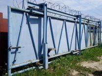 Продам откатные промышленные ворота