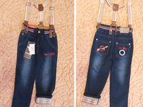 Новые джинсы. Размер 98-104