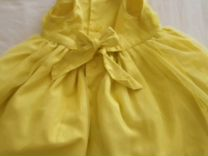 Платье жёлтое