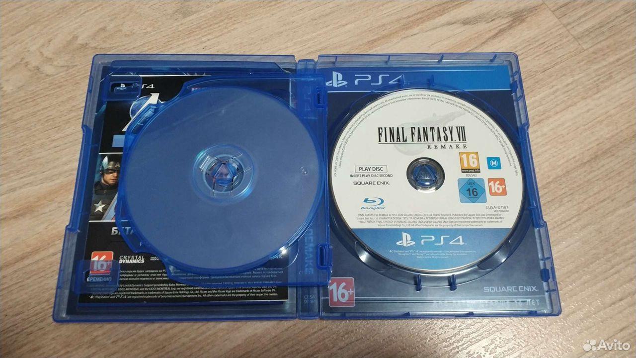Final Fantasy VII Remake PS4  89028147177 купить 3