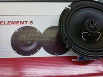 Автоакустика Element 5 на 16 см, Новые, Гарантия