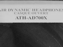 Продам наушники Audio Technica ATH-AD700X