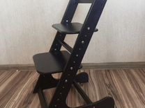 Венге. Растущий стул детский для кормления ортопед