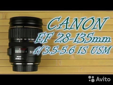 Объектив Canon EF 28-135mm f/3.5-5.6 IS 89098222567 купить 1
